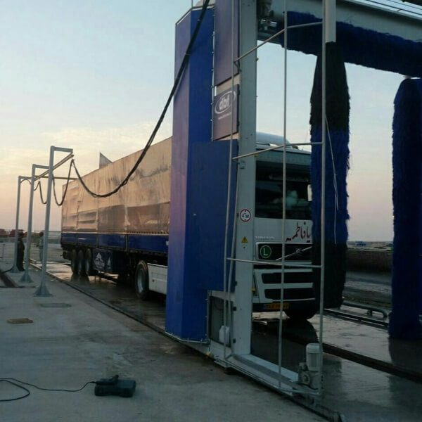کارواش اتوماتیک کامیون -CLEANKALA