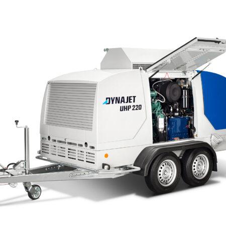 جت ماشین آبسرد -تریلر 3000 بار( DYNAJET UHP 220 3000/24 T mobile)