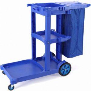 ترولی نظافت حمل زباله