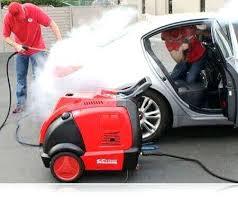 دستگاه کارواش نانو بخار تمام اتوماتیک صنعتی
