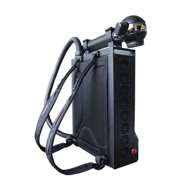 زنگ زدایی باکوله پشتی لیزری - 100W