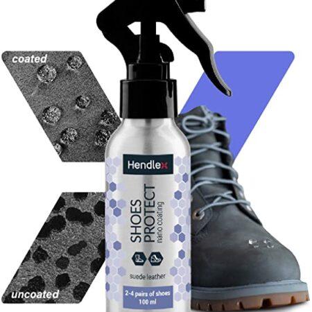 اسپری نانو آبگریز کفش های چرمی مات Hednlex Shoes Protect Leather Matte Effect