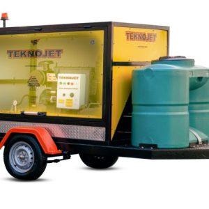 واتر جت آبسرد 600 بار دیزل - teknojet 30-litr