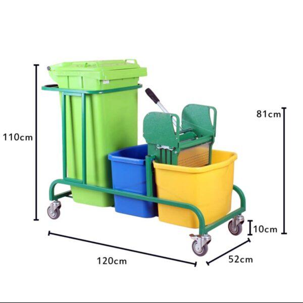 ترولی نظافتی مدل cleankala2100