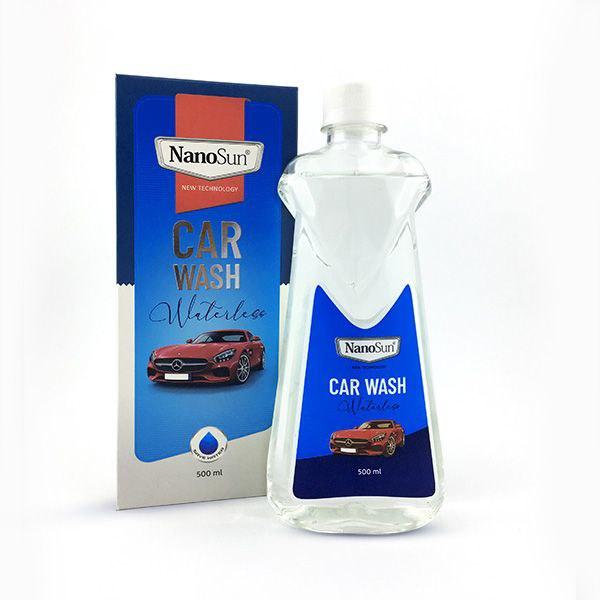 شامپو واترلس -بدون آب